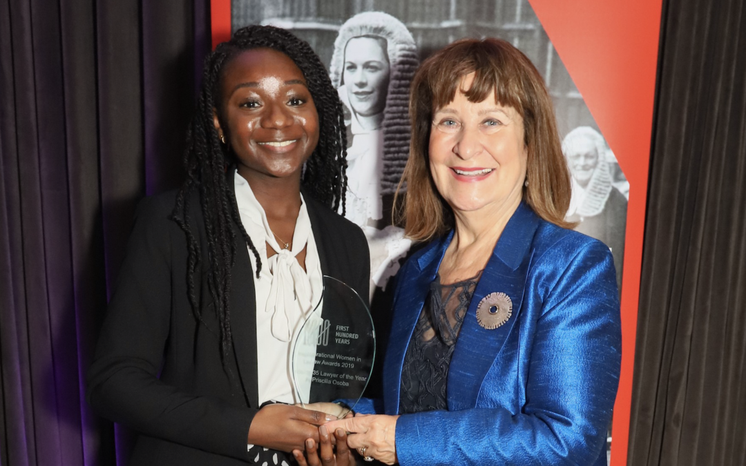 An interview with Priscilla Osoba, winner of our Under-35 Lawyer of the Year Award 2019